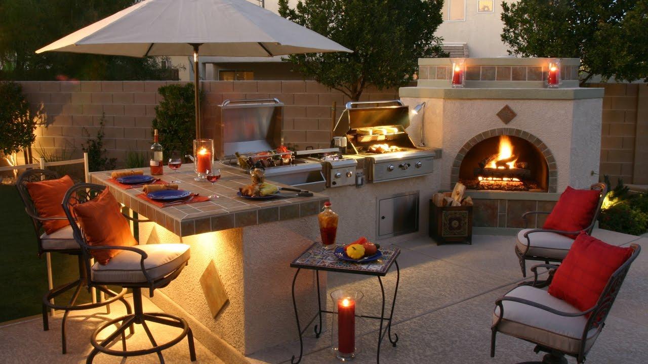 60 + Grill Outdoor Ideas 2017 - Amazing Barbecue Design ...