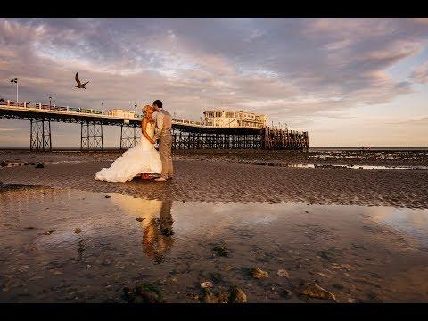 Sarah & Jason's Worthing Pier Wedding