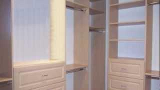 Adjustable Closet & Cabinet Walk-in Closet