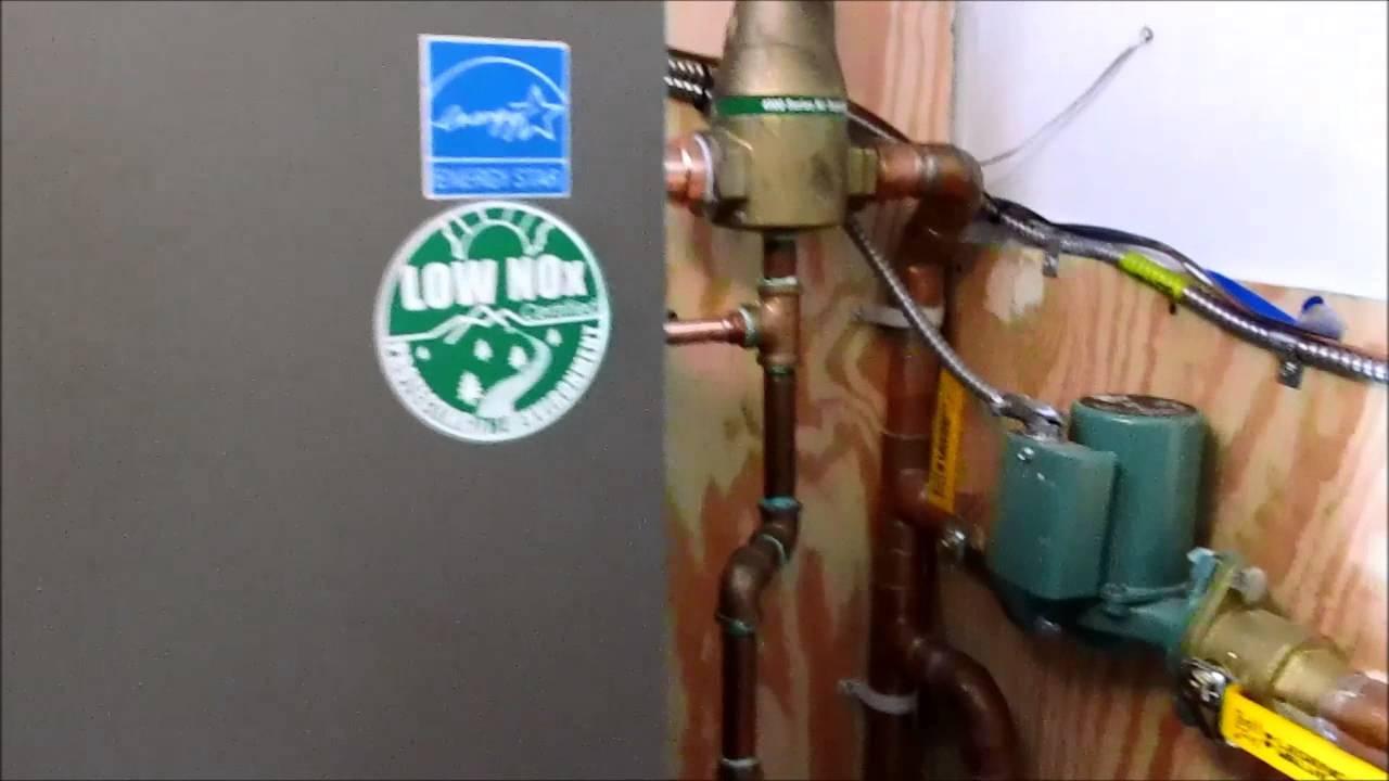 Lochinvar knight boiler piping repair