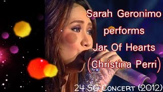 Sarah Geronimo - Jar Of Hearts (Christina Perri) [24SG Concert]