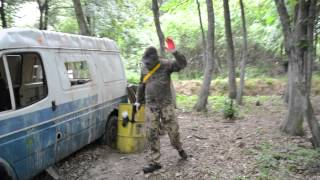 Gra w paintball – Poznań video
