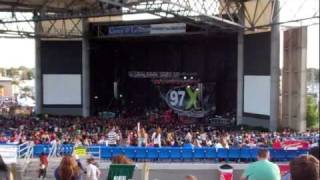 97X Next Big Thing Concert at the Ampitheater in Tampa FL