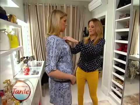 2409db3366077 Ana Hickmann e Ticiane dão dicas de moda para grávidas. - YouTube