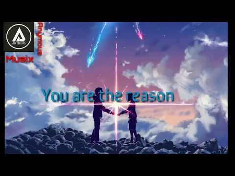Calum Scoutt 🎶 You are the reason🎶[Lyrics video]