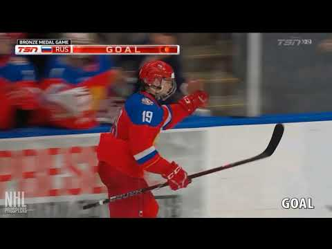 Vasili Podkolzin is relentless. Are teams too timid to draft him in the top 10?