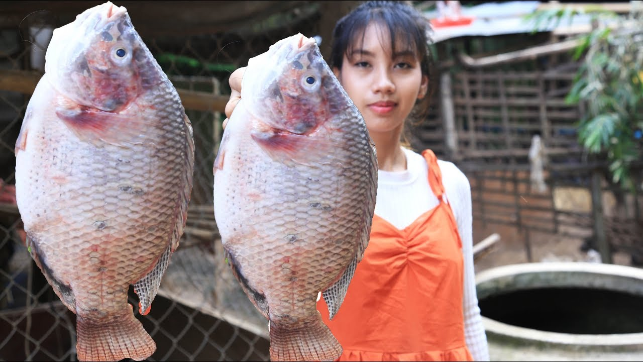 Yummy cooking fish with vegetable recipe - Cooking skill