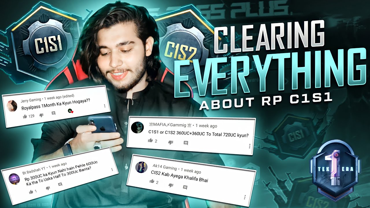 Clearing Confusion About RP C1 S1   all Questions answered   47 khalifa Pubg Mobile