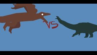 Microraptor VS Argentinosaurus
