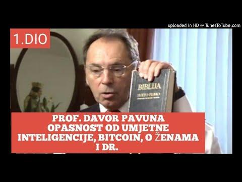 1.dio prof.Davor Pavuna:opasnost od umjetne inteligencije,Bitcoin, o ženama i dr.