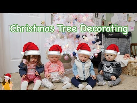 Reborn Babies Decorate Christmas Tree! |...