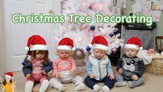 Reborn Babies Decorate Christmas Tree! | Kelli Maple