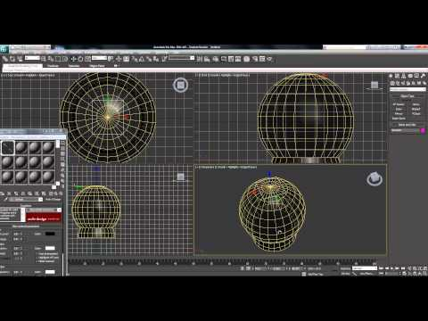 3ds Max Animation Tutorial   Snow Globe   Particles