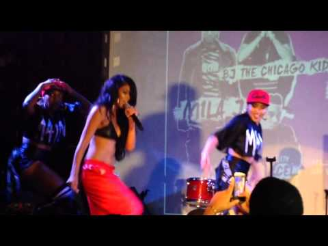 """Mila J Performs """" My Main"""" At SOBs For Hot 97 Who's Next Showcase NYC"""