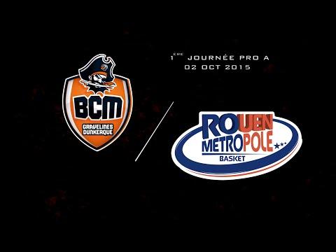 Journée 1 | BCM Gravelines Dunkerque - Rouen Métropole Basket