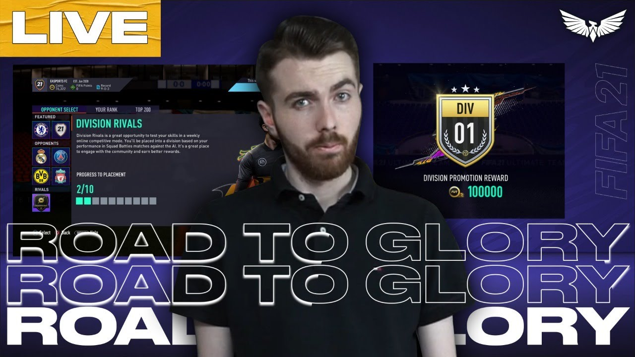 *LIVE* FIFA 21 EARLY ACCESS!!! FIFA 21 RTG WITH EA PLAY!!! - FIFA 21 Ultimate Team Road To Glory