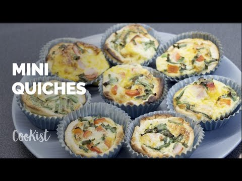 Pork Asparagus Small Quiches