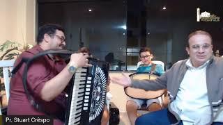 Pr. Stuart Crêspo, Pr Adriano José, Pb. Betânio e Kayo Filipe