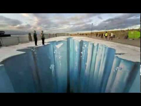 Amazing of 3D Street Art Illusion