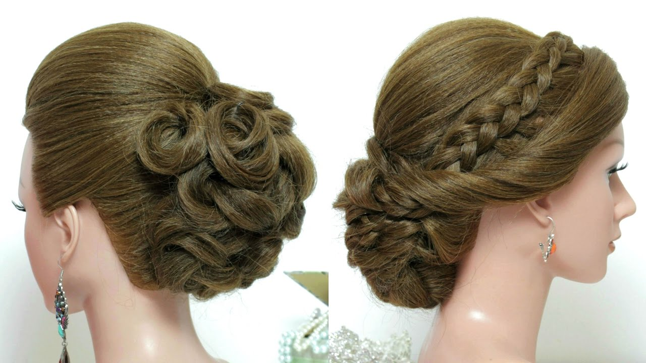 Hairstyles For Long Hair Tutorial 2 Bridal Updos Youtube