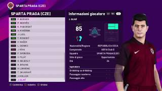 eFootball PES 2020 (PS4) - SPARTA PRAGA CLASSIC ALL TIME XI (98/100)