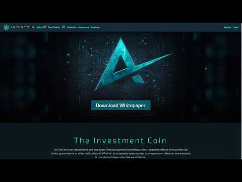 ArbitraCoin ICO Lending Review Pt 1