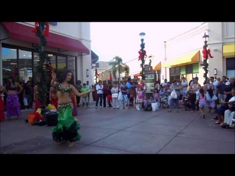 Palm Beach Outlets Lauren Cabaret Belly Dance Solo South Florida