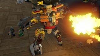 Lego Movie Videogame - Golden Instruction Build #10 - Metalbeard Mech