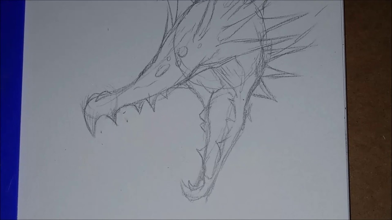 How To Draw Godzilla Earth Step By Step