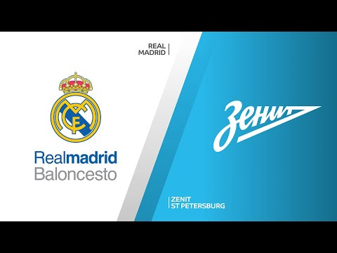 Real Madrid - Zenit St Petersburg Highlights | Turkish Airlines EuroLeague, RS Round 13