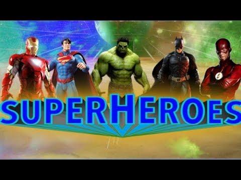 Superheroes Fighting Games