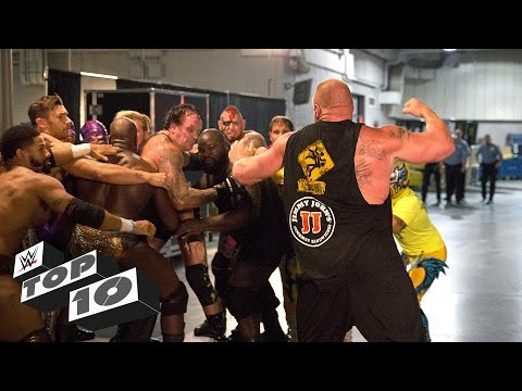 Thumbnail: Brutal Backstage Brawls: WWE Top 10
