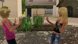 "Sims 3 serial pt.""Super girl"" odcinek 1"