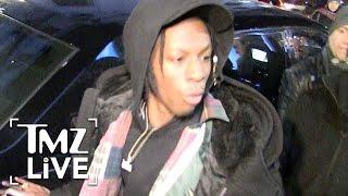 Rapper Joey Bada$$ Brawls Outside Kanye's Show | TMZ Live