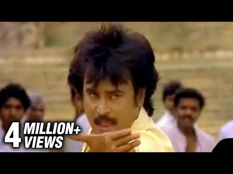 Rajnikanth & Nadiya in Yengutta Modade - Rajadhi Raja - Superstar Rajni Songs