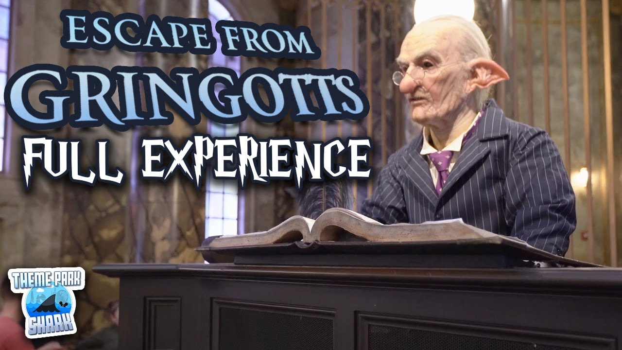Download Harry Potter and the Escape from Gringotts (Full Ride Experience + Queue POV) Universal Studios