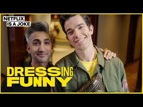 Tan France Gives John Mulaney a Hypebeast Makeover