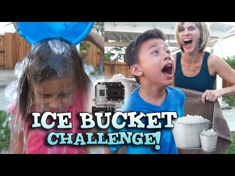 EvanTubeHD takes the ALS ICE BUCKET CHALLENGE!!!