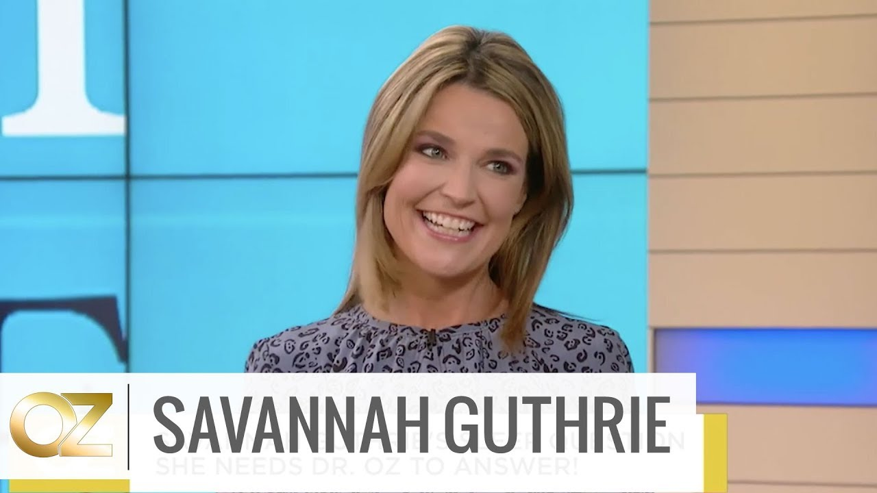 Savannah Guthrie Shares Her Experience On The Keto Diet Youtube
