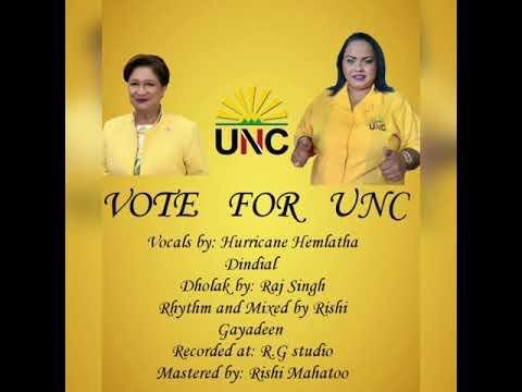 VOTE FOR UNC - Hurricane Hemlatha Dindial