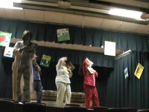 100 Book Challenge Family Workshop Skit at Palm Bay Elementary School