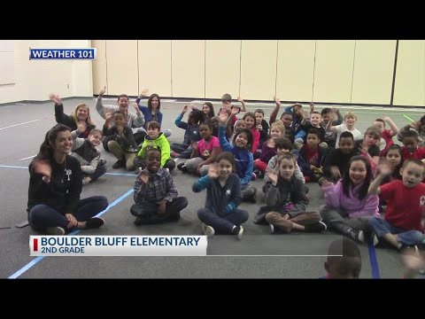 Rob Fowler visits the 2nd graders at Boulder Bluff Elementary School_2019
