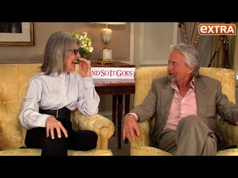 Which Kisser Does Michael Douglas Prefer? Diane Keaton or Matt Damon?