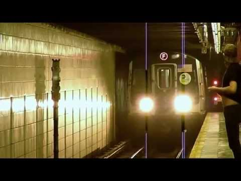 R160 E and F trains at 57th Street - 6th Avenue