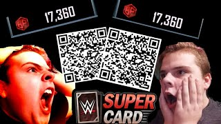 WWE SUPERCARD SEASON 5 | SCANING *QR CODES* I ACTUALLY *GOT THAT* TAKE A LOOK!!