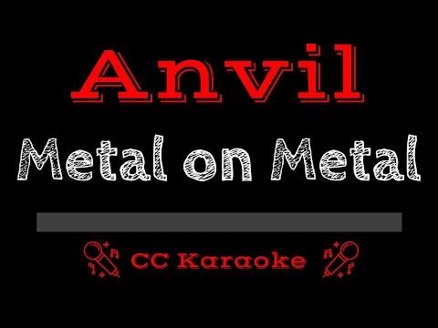 Anvil   Metal on Metal CC Karaoke Instrumental