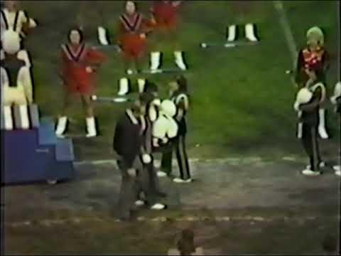 Mount Pleasant Area High School Marching Band 1983-84 Senior Night