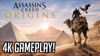 ASSASSIN'S CREED ORIGINS - EU JOGUEI!!! (Preview Gameplay 4K E3 2017)