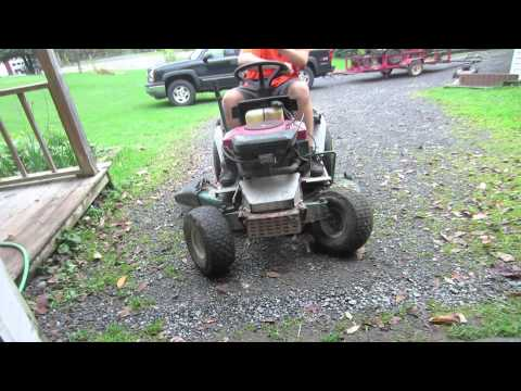 jasons 1997 yard machines(MTD)  lawn tractor with a 18.5 hp opposed twin briggs
