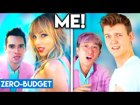 TAYLOR SWIFT WITH ZERO BUDGET! (ME! Ft Brendon Urie PARODY)